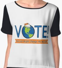 VOTE! Chiffon Top