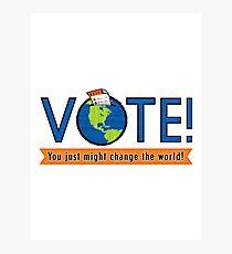 VOTE! Photographic Print