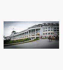 Grand Hotel mackinaw Island Photographic Print