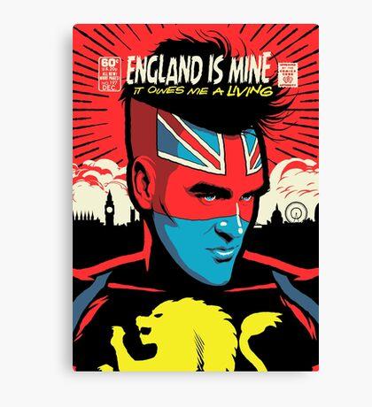 Post-Punk Comics | England Is Mine Canvas Print