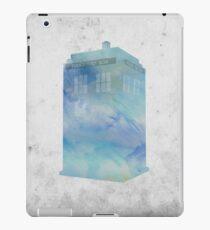Watercolour TARDIS iPad Case/Skin
