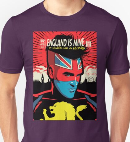 Post-Punk Comics | England Is Mine T-Shirt