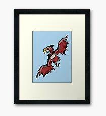 Caucasian Eagle Framed Print