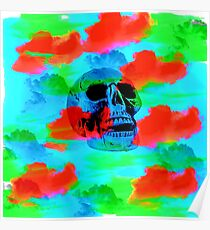 Skull Smoke Dreams Poster