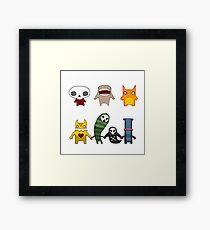 Monster Menagerie Framed Print