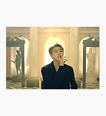 BTS Wing Rap Monster v1 Photographic Print