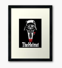 The Helmet-Godfather of the Dark Schwartz Framed Print