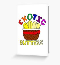 Sister Location - Exotic Butters Greeting Card