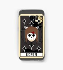 Death (Tarot Card II) Samsung Galaxy Case/Skin