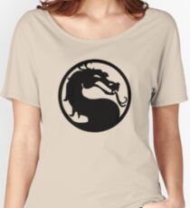 Mortal Dragon Women's Relaxed Fit T-Shirt