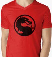 Mortal Dragon Men's V-Neck T-Shirt