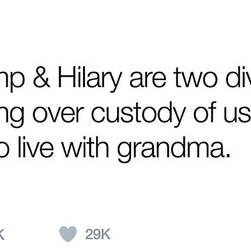 Hilary v Trump by 3rinDesigns