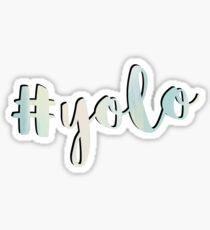 #yolo Sticker