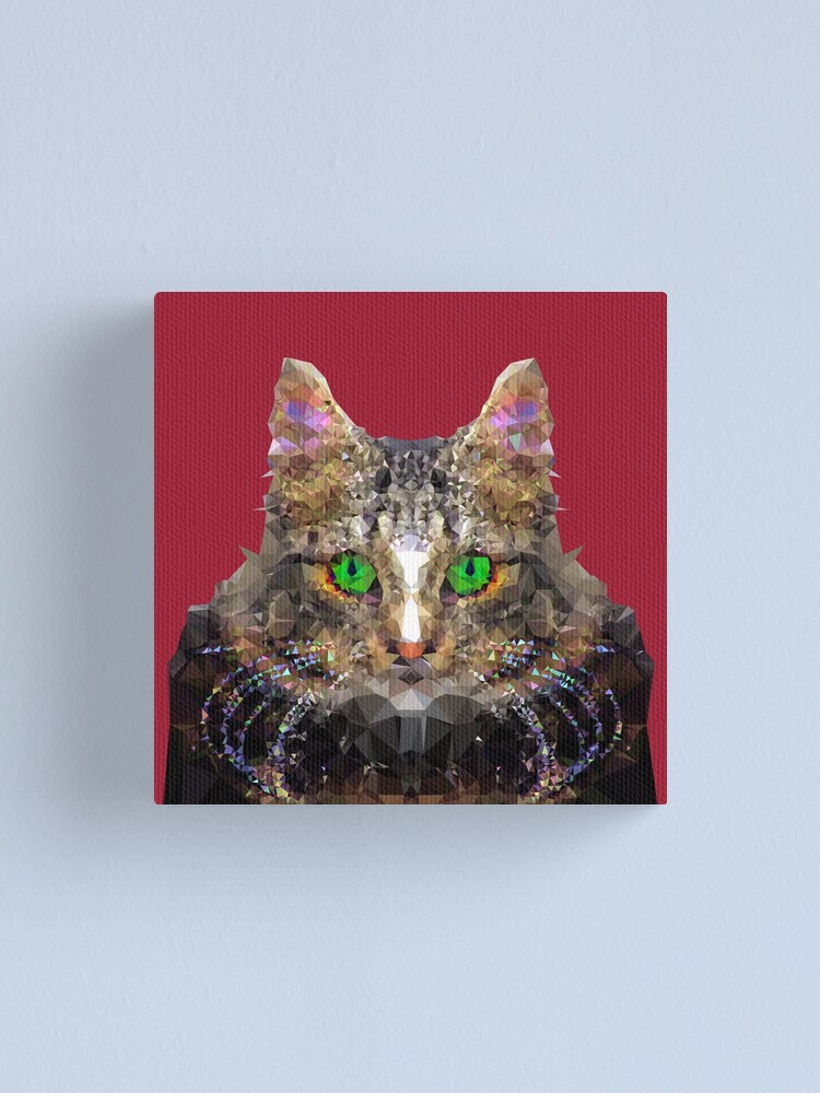 Alternate view of Imperial Boss cat Canvas Print
