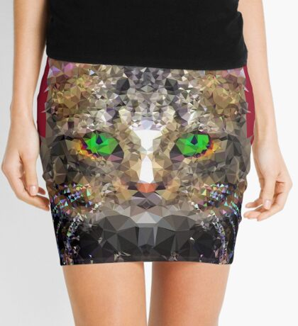 Imperial Boss cat Mini Skirt