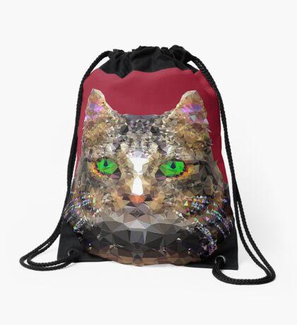 Imperial Boss cat Drawstring Bag