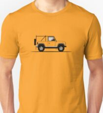 A Graphical Interpretation of the Defender 90 NAS Soft Top Unisex T-Shirt