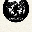Sasquatch Silhouette  by thebigfootstore