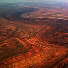 Eastern McDonnell Ranges, NT, Australia by Peter Morse