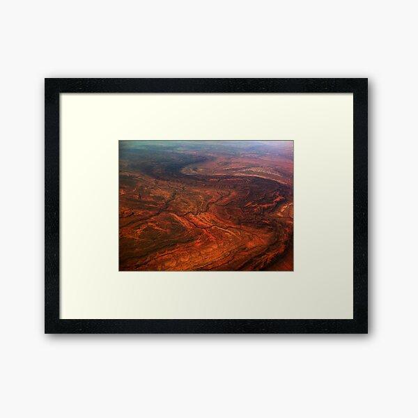 Eastern McDonnell Ranges, NT, Australia Framed Art Print