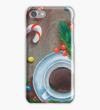 Christmas coffee iPhone Case/Skin