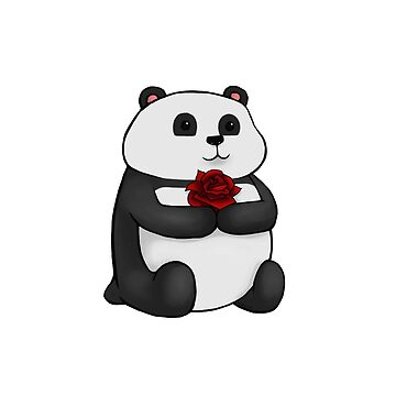 Panda Rose by sajedene