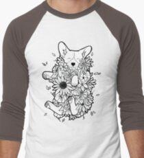Floral Corgi T-Shirt