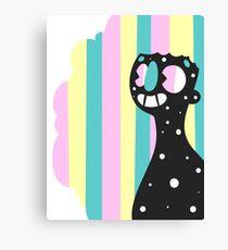 Rainbow Smile Canvas Print