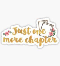 Pegatina Solo un capítulo más <3