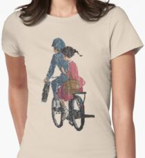 From up on poppy hill Womens Fitted T-Shirt