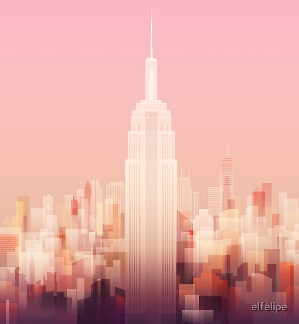 New york Empire state building by elfelipe