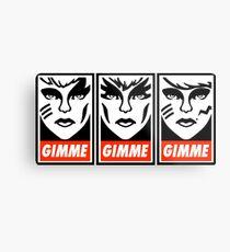 Gimme Misfits Metal Print