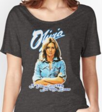 Olivia Newton-John - 70's  If You Love Me, Let Me Know Women's Relaxed Fit T-Shirt