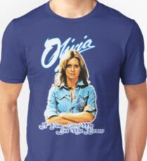 Olivia Newton-John - 70's  If You Love Me, Let Me Know Unisex T-Shirt