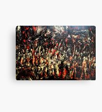 ABSTRACT ARMY OF DARKNESS Metal Print