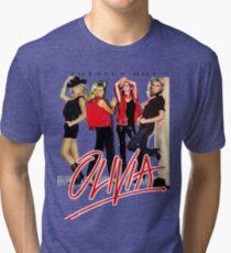 Olivia Newton-John Totally Hot Gallery Tri-blend T-Shirt