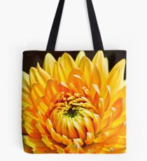 Bright Yellow Chrysanthemum Tote Bag