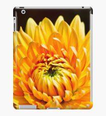 Bright Yellow Chrysanthemum iPad Case/Skin