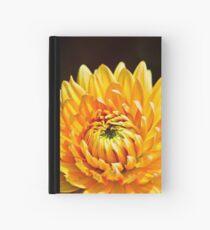 Bright Yellow Chrysanthemum Hardcover Journal