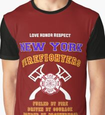 NEW YORK FIREFIGHTERS Graphic T-Shirt
