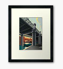 Castlefield, Manchester Framed Print