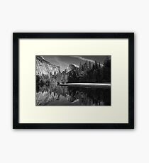 In The Footsteps Of Ansel Adams Framed Print
