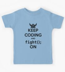 Vikings: Keep on coding Kids Clothes