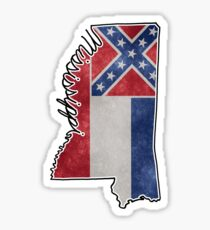 Mississippi State Outline Sticker
