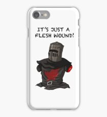 It's just a flesh wound | Cult tv Best of British | Monty Python iPhone Case/Skin