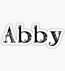 Abby Sticker