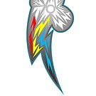 Rainbow Dash Storm Shards by Nightmarespoon