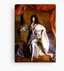 Hyacinthe Rigaud louis 14 Louis XIV roi soleil Canvas Print