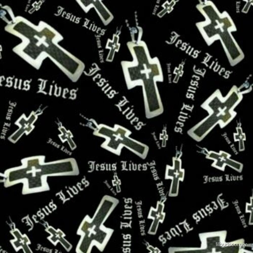 Jesus Lives collage by lilbudscorner