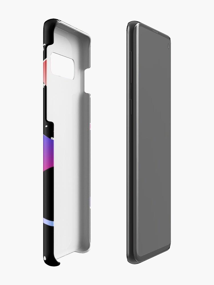 Alternative Ansicht von HALLO MEMPHIS (schwarz) Hüllen & Klebefolien für Samsung Galaxy